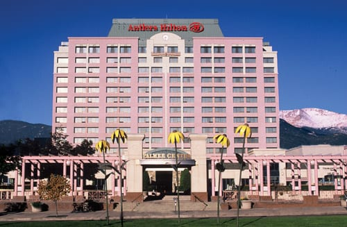 Commercial Window Coverings in Hotel